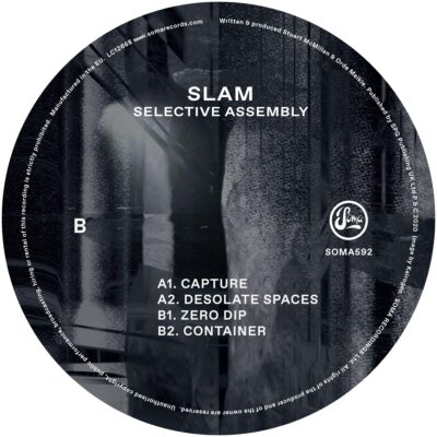 """Slam – Selective Assembly Label: Soma Quality Recordings – SOMA592 Format: Vinyl, 12"""", 33 ⅓ RPM, EP Country: UK Released: 13 Nov 2020"""