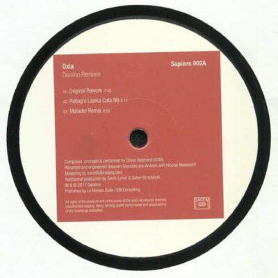 Oxia   Domino Remixes pt.1   SAPIENS002A