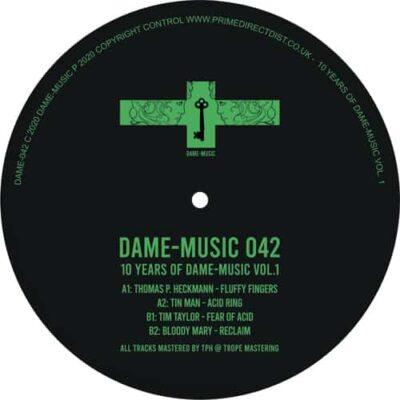 Thomas P. Heckmann   10 Years of Dame Music, Vol. 1   dame042